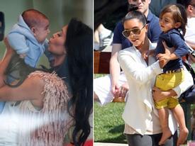 Những khoảnh khắc đẹp dịu dàng của Kim Kardashian