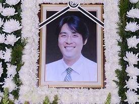 Đám tang lặng lẽ chồng cũ Choi Jin Sil
