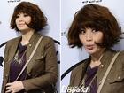 Kim Hye Soo đẹp ấn tượng tóc vuông rối