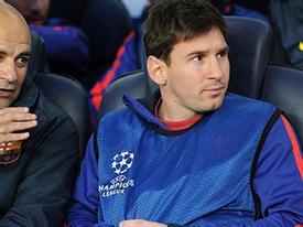 Messi bỏ trận Bayern không phải vì chấn thương