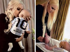 Maradona cắt tiền nuôi con của bạn gái cũ