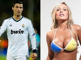 'Tình một đêm' bốc lửa của C. Ronaldo