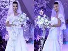 Thanh Hằng mặc váy cưới đẹp mê hồn tuổi 30