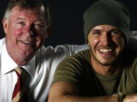 David Beckham tự hào về người thầy vĩ đại