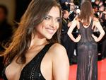 Irina Shayk nóng bỏng váy hở xuyên thấu