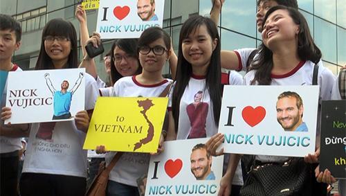 Nick Vujicic được bảo vệ quá nghiêm ngặt