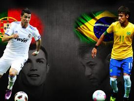 Neymar: 'Tôi muốn đánh bại C.Ronaldo'