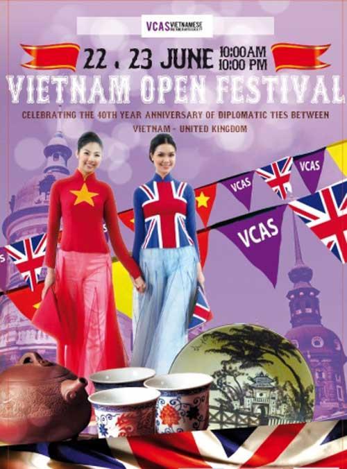 Tưng bừng ngày hội văn hóa Việt giữa London hoa lệ