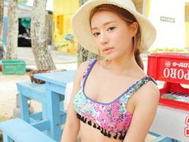 Thiên thần xứ Hàn tuyệt xinh trong bikini nóng bỏng