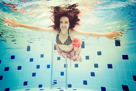 Chụp ảnh dưới nước, xu hướng mới mẻ dành cho bạn
