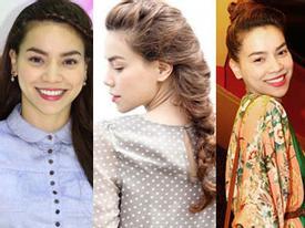 8 kiểu tóc ngắm là mê của Hà Hồ