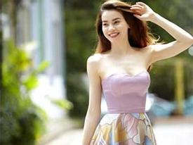Hồ Ngọc Hà thanh thoát với trang phục hè