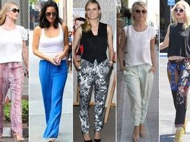 Xu hướng thời trang đơn giản mà đẹp của Sao Hollywood
