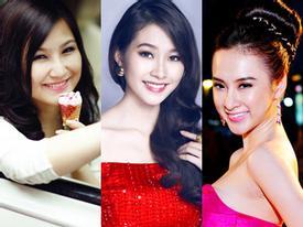 7 nhan sắc 9x hiếm nhất của showbiz Việt
