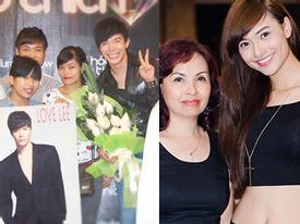 Fans của Nathan Lee gây náo loạn - Hồng Quế đưa mẹ đi nghe nhạc