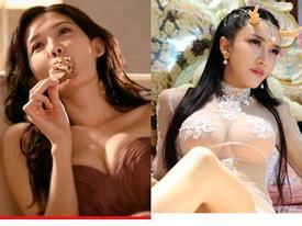Mỹ nhân Hoa ngữ lại đồng loạt khoe ngực