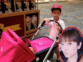 Jennifer Phạm khoe ảnh con trai Bảo Nam đưa em gái đi chơi