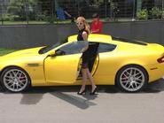 Andrea Aybar được tặng siêu xe 4 tỷ