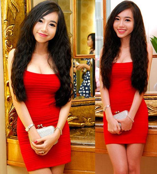 Xã hội - 'Tăm tia' khuyết điểm ngoại hình của hot girl Việt (Hình 13).