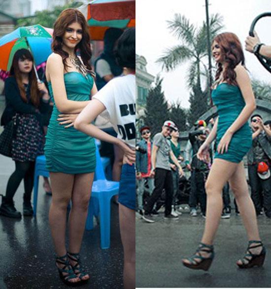 Xã hội - 'Tăm tia' khuyết điểm ngoại hình của hot girl Việt (Hình 20).