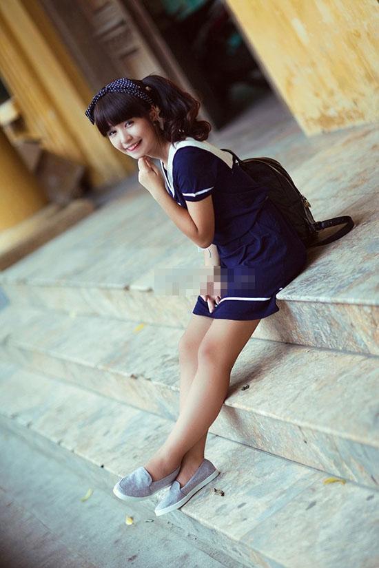 Xã hội - 'Tăm tia' khuyết điểm ngoại hình của hot girl Việt (Hình 23).