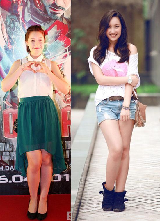 Xã hội - 'Tăm tia' khuyết điểm ngoại hình của hot girl Việt (Hình 26).