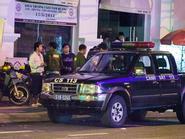 Cảnh sát 113 tháp tùng Siu Black về giữa đêm khuya