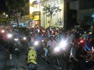 Pháo hoa tuyệt đẹp đêm Quốc khánh ở Sài Gòn