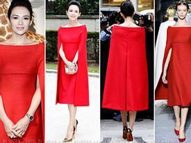 Những bộ váy hàng hiệu đắt đỏ của Chương Tử Di
