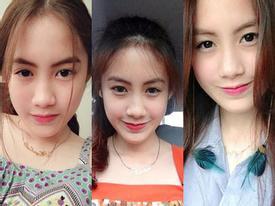 Nữ sinh Lào xinh như búp bê, gây sốt dân mạng