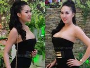 Phi Thanh Vân táo bạo diện váy khoe vòng 1 lộ liễu