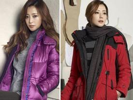 Phối đồ thu đông sành điệu như style của Kim Hee Sun