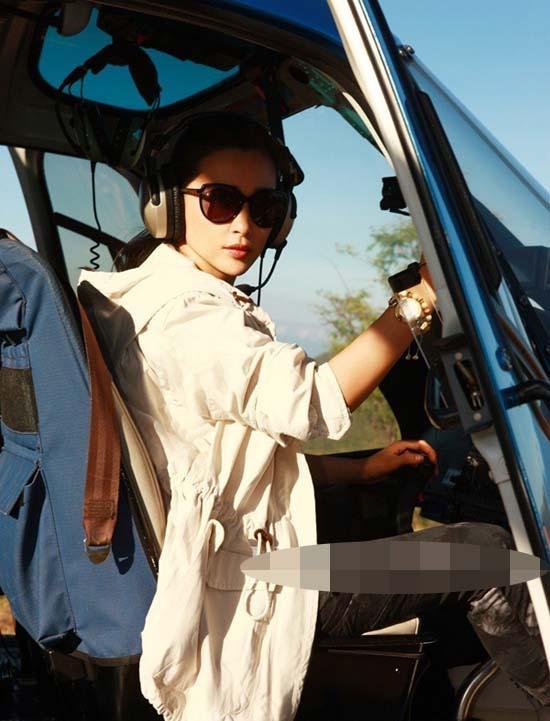 Angelababy làm việc đến kiệt sức - Lý Băng Băng lần đầu làm phi công