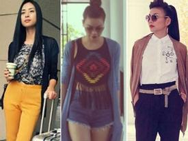 Chọn áo khoác đầu thu tuyệt đẹp như kiều nữ Việt