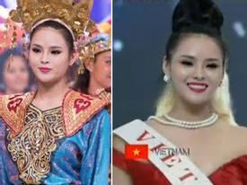 Lại Hương Thảo khoe ảnh tự sướng hậu trường ngày khai mạc Miss World 2013