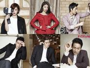 Song Hye Kyo quyến rũ cùng sắc đỏ - 8 nghệ sĩ Hàn Quốc khoe sắc trên tạp chí Instyle