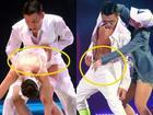 51 tuổi,  Lưu Đức Hoa vẫn làm đỏ mặt khán giả với tư thế nhạy cảm