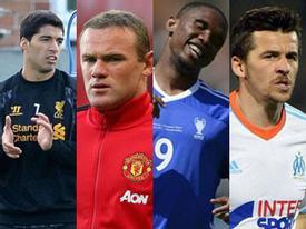 10 ngôi sao 'ích kỷ' nhất làng bóng đá thế giới