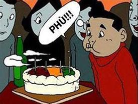 Tranh vui: Sinh nhật đáng nhớ
