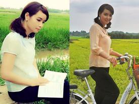 34 tuổi, Mai Thu Huyền mượn đồ con gái hóa thân thôn nữ 20