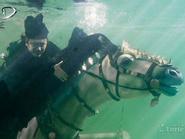 Hậu trường cảnh chiến đấu dưới nước của phim 'bom tấn'