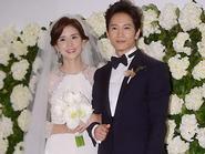 Hoa hậu Hàn Quốc 2000 rạng rỡ trong lễ cưới