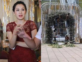 Ngọc Thạch 'bạo tay' chi 2,4 tỷ trang trí đám cưới