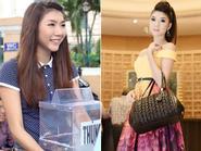 Hình ảnh và phong cách thời trang đối lập trong một ngày của Ngọc Quyên