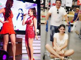 """Mai Phương Thuý """"chê"""" Hoàng Thuỳ Linh lùn - Andrea hạnh phúc bên bố tại Tây Ban Nha"""