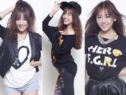 Phong cách thời trang cá tính như cô nàng hàn quốc Hari Won