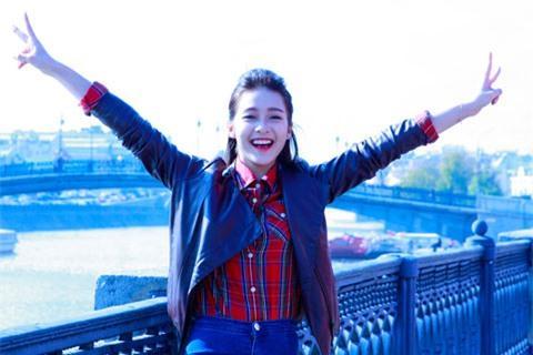 Boxing girl Khả Ngân khoe vẻ tinh khôi trên đất Nga | Boxing girl,Khả ngân,Hot girl việt