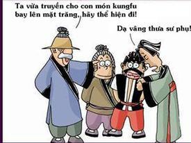 Truyện chưởng hài: Kung fu cua gái