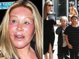 'Thảm hoạ' thẩm mỹ đi ăn với bạn trai - Angelina Jolie tưng bừng đưa con đi chơi tại Sydney