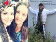 Trốn scandal tình ái, Andrea bình yên bên mẹ - Hoài Linh tới thăm FIFA